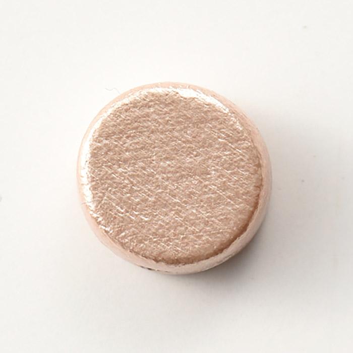ウッドパール コイン ピンク
