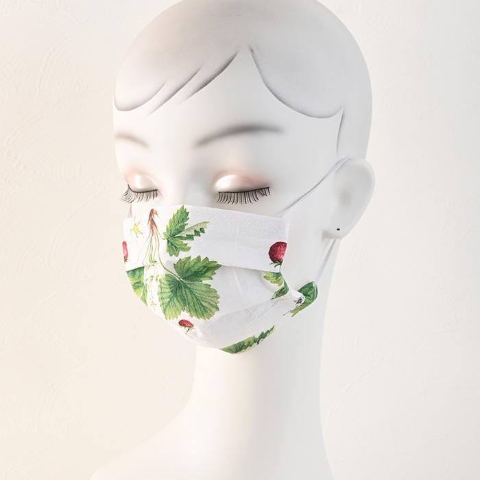 ペーパーナプキンで作る使い捨てマスク材料セット39 野いちご