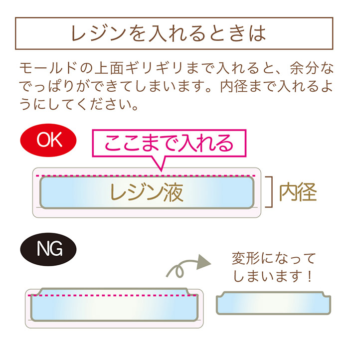 サロン・ド・レジン/花のバングルが作れるレジンスターターセット