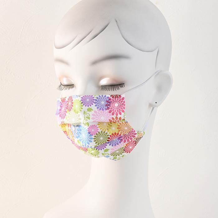 ペーパーナプキンで作る使い捨てマスク材料セット43 フルフラワーズ