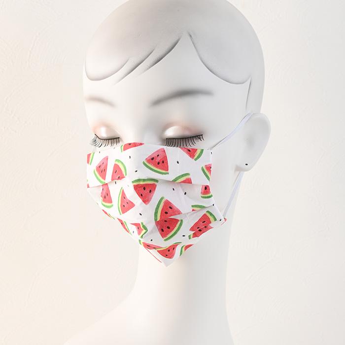 ペーパーナプキンで作る使い捨てマスク材料セット48 スイカ