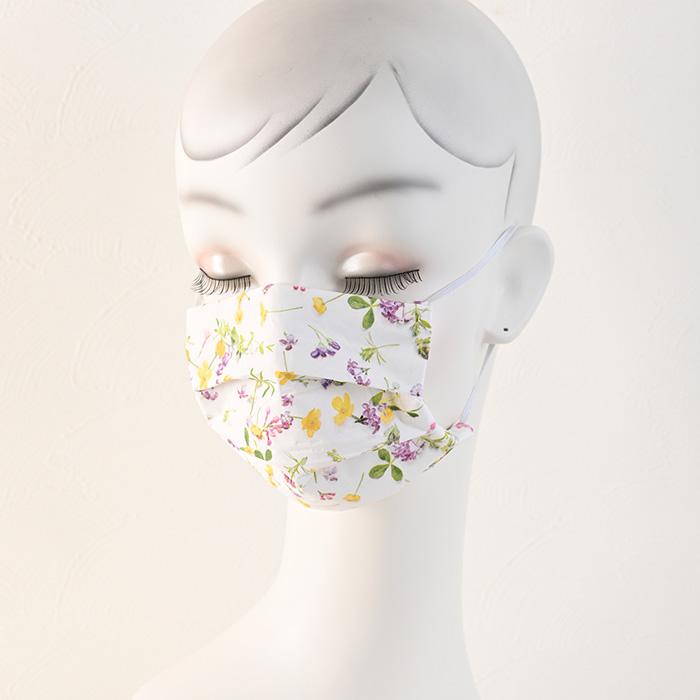 ペーパーナプキンの手作りマスクキット/フラワーアソート