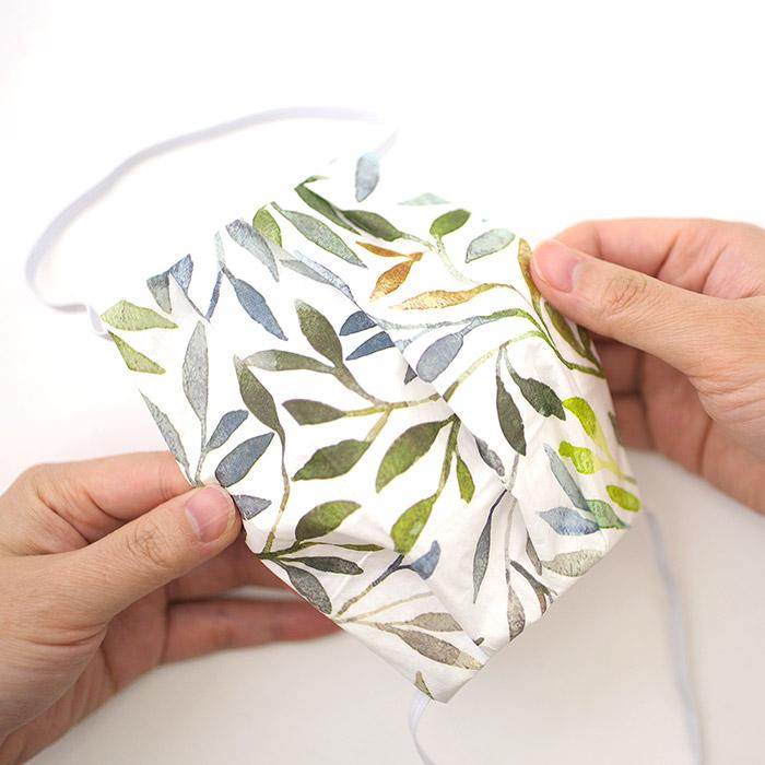 【在庫限り】ペーパーナプキンで作る使い捨てマスク材料セットtypeB 2 リーフィー