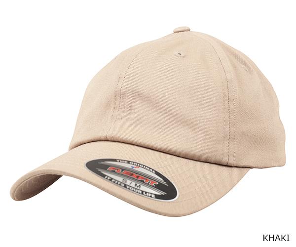YUPOONG(ユーポン)6745 FLEXFIT COTTON TWILL DAD CAP
