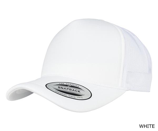 YUPOONG(ユーポン)6005FC CLASSICS Trucker Cap Curved Visor