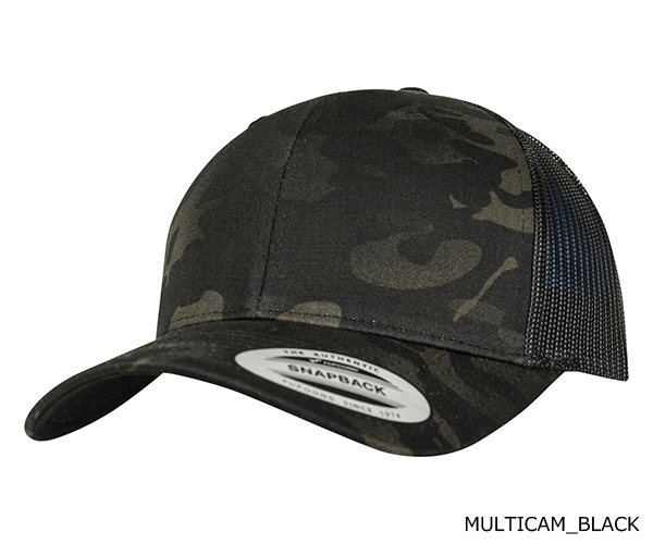 YUPOONG(ユーポン)6606MC CLASSICS MULTICAM RETRO TRUCKER MESH CAP