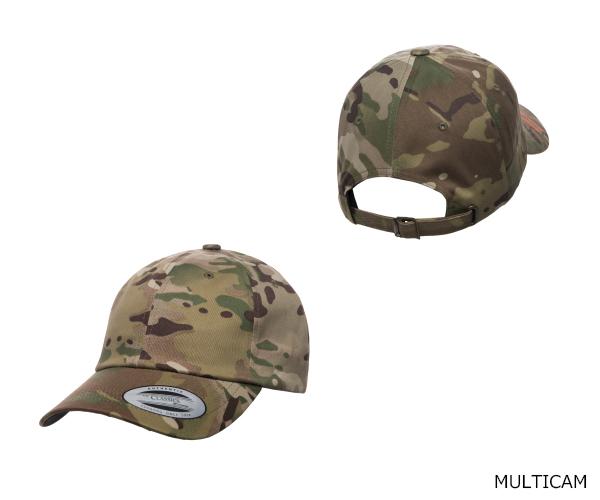 YUPOONG(ユーポン)6245MC CLASSICS MULTICAM LOW PROFILE COTTON TWILL CAP
