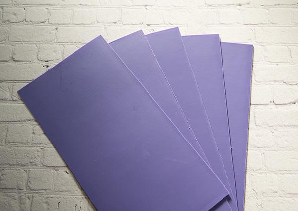 【新色】 カラーシート/ライラック 柔軟性と粘着力があるのでキャンドルの装飾に便利です。