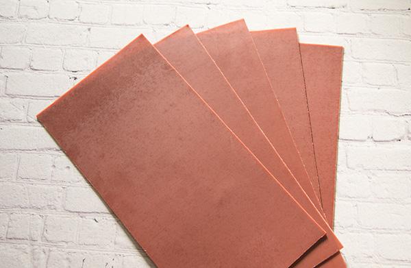 【新色】 カラーシート/テラコッタ 柔軟性と粘着力があるのでキャンドルの装飾に便利です。