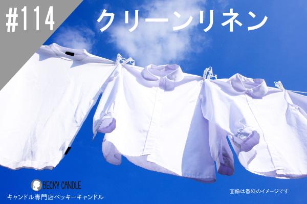 ◆【香料】#114 クリーンタイプ/Clean type