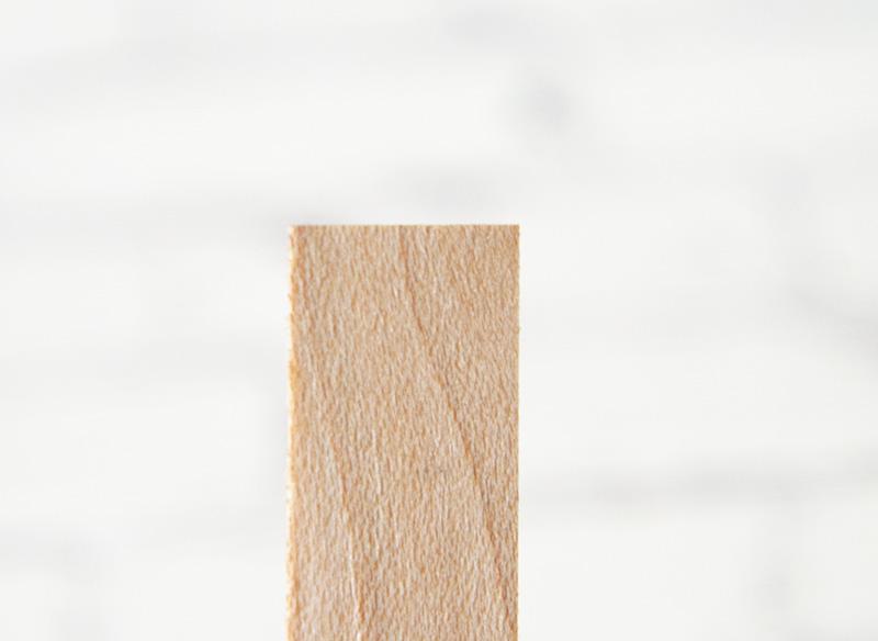ウッドウィック ホワイトウッド(専用座金付き)3種類