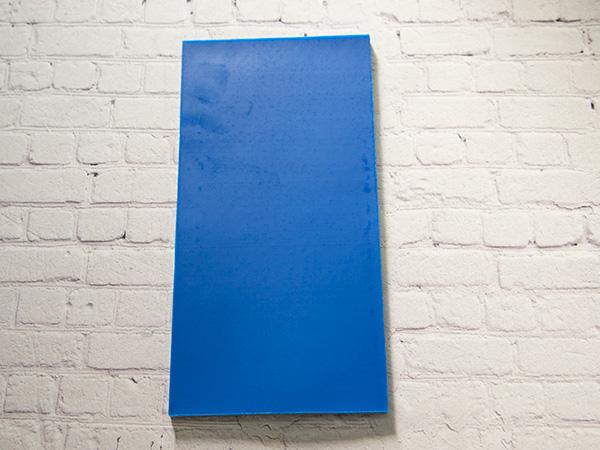 【新色】 カラーシート/ブルー 柔軟性と粘着力があるのでキャンドルの装飾に便利です。