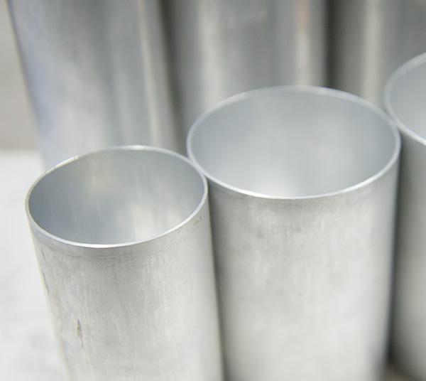 【新製品】#77 円筒形アルミモールド φ76mm×H100mm ※3個以上ご購入で10%OFF対象商品