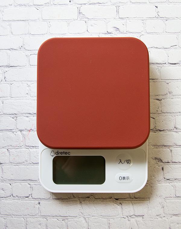【道具】デジタルスケール ブランジェ 2kg計 <ドリテック>ネイビー