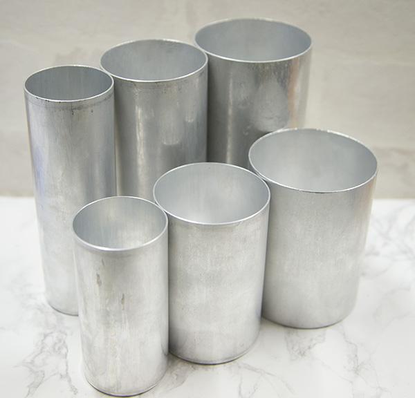 【新製品】#79 円筒形アルミモールド φ65mm×H150mm ※3個以上ご購入で10%OFF対象商品
