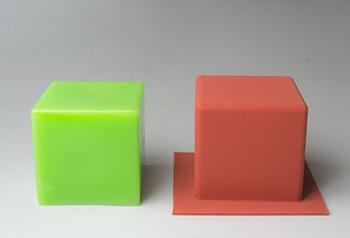 シリコンカップ <キューブ大> D/W5.0mm×H5.0mm