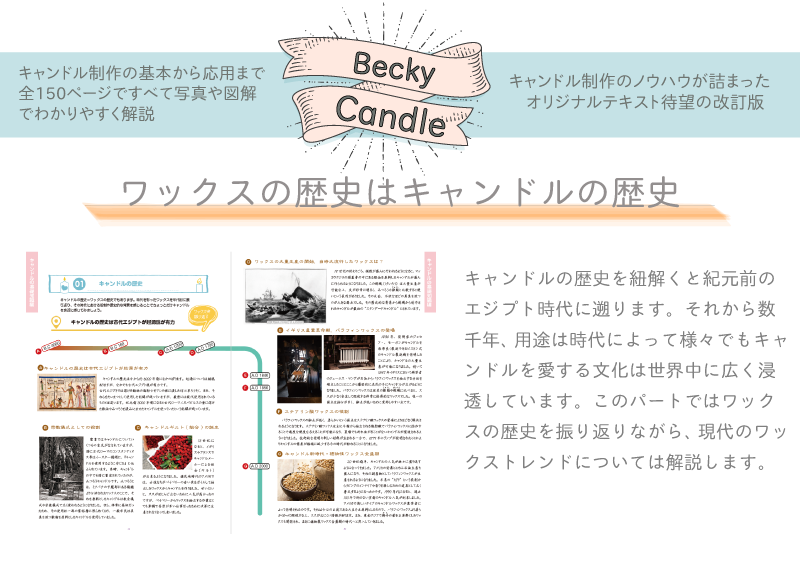 ベッキーのキャンドルノート書籍版 ※コンビニ決済不可 E-book版は送料不要 ご提供まで1〜2営業日かかります。