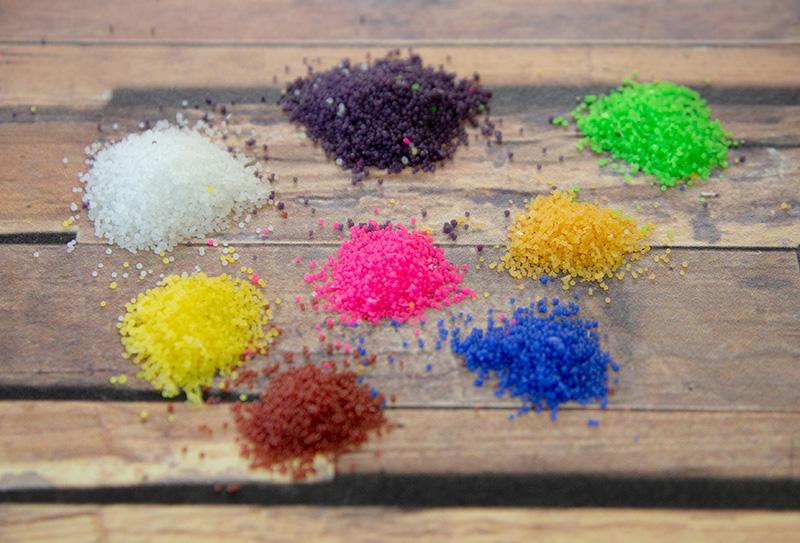【よりどり3色で1000円均一】サンドワックス 顆粒状の色付きワックス 小さなお子様でも楽しめる