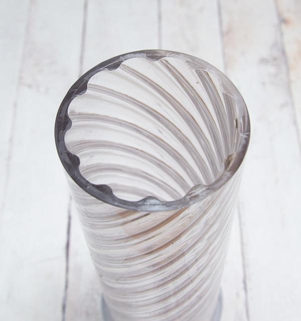 【ポリ製】#114 円筒形スパイラル 【B】 内径φ70mm×H229mm ※リサイクル素材を利用付、細かな傷等あり。