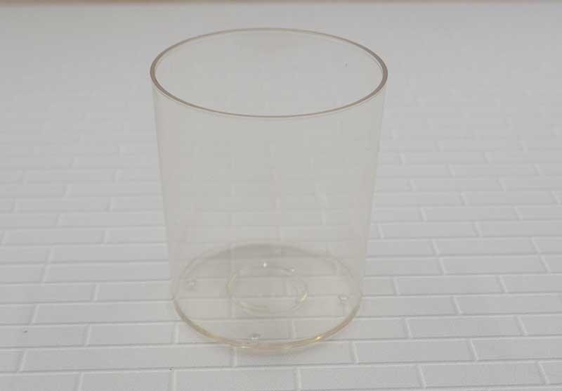 ポリ製 ボーティブカップ 1個  厚さ約1mmで簡易式