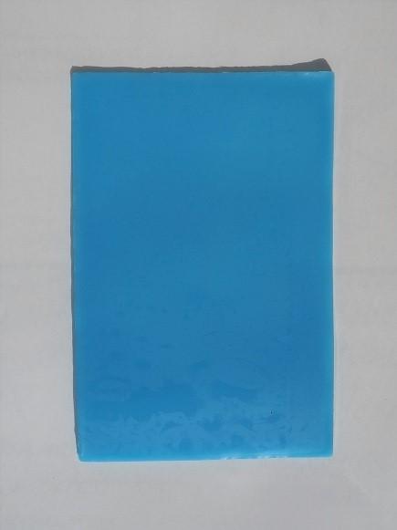 【カラーシート】 ライトブルー 150mm×95mm 約30g 装飾に最適な粘土状のワックス