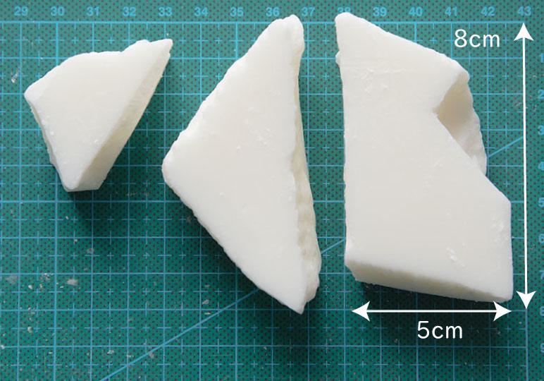 大豆ピラーワックス(融点54℃) ピラー用ブロックタイプ