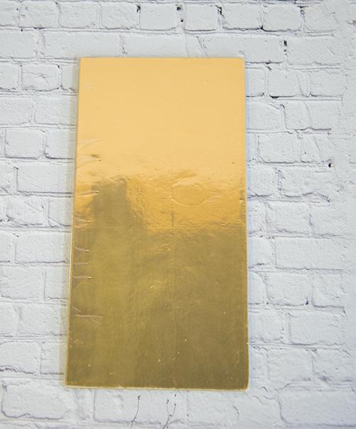 【カラーシート】 ゴールド 200mm×100mm×0.5mm 5枚入