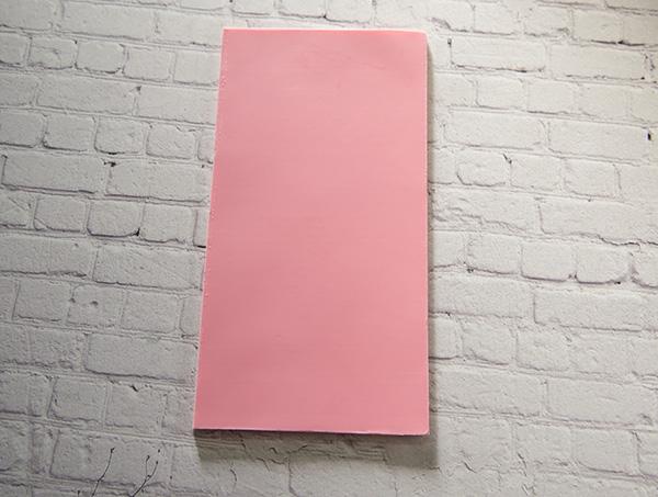 【新色】 カラーシート/ピンク 柔軟性と粘着力があるのでキャンドルの装飾に便利です。