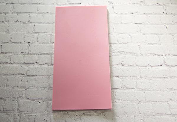 【新色】 カラーシート/ダスキーピンク 柔軟性と粘着力があるのでキャンドルの装飾に便利です。