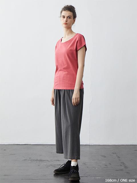 WOMEN'S NO SLEEVE TEE [2021SS] / ウィメンズノースリーブTシャツ