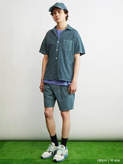 S/S OPEN TEE SHIRTS [2021SS] / ショートスリーブオープンTシャツ