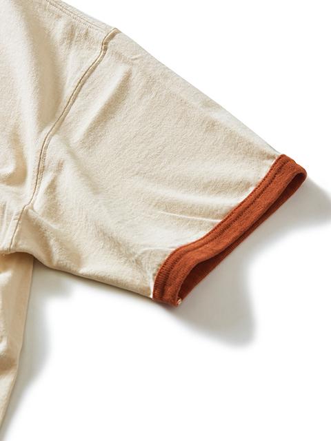 S/S RINGER TEE / ショートスリーブリンガーTシャツ