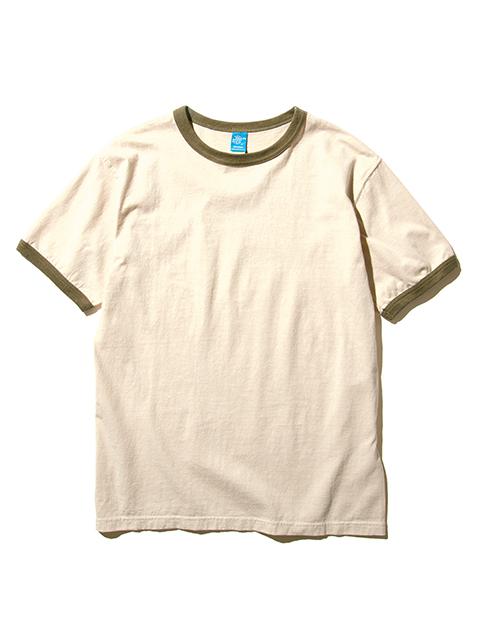 S/S RINGER TEE [2021SS] / ショートスリーブリンガーTシャツ