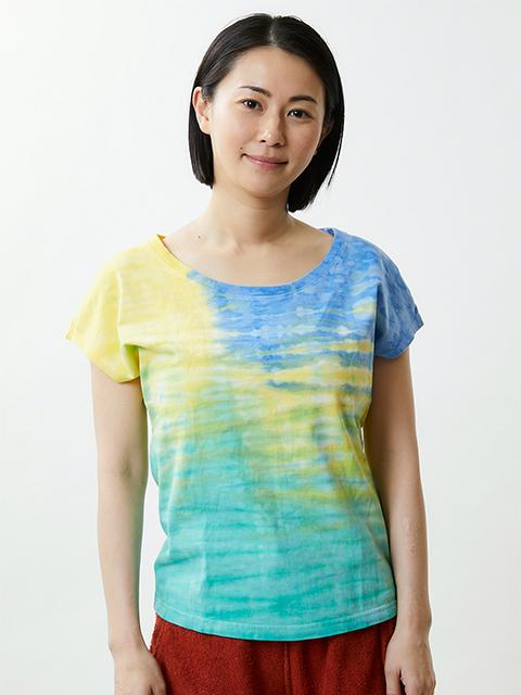 【SPECIAL EDITION】 HORIZON DYE WOMEN'S NO SLEEVE TEE / ホライズンダイウィメンズノースリーブTシャツ
