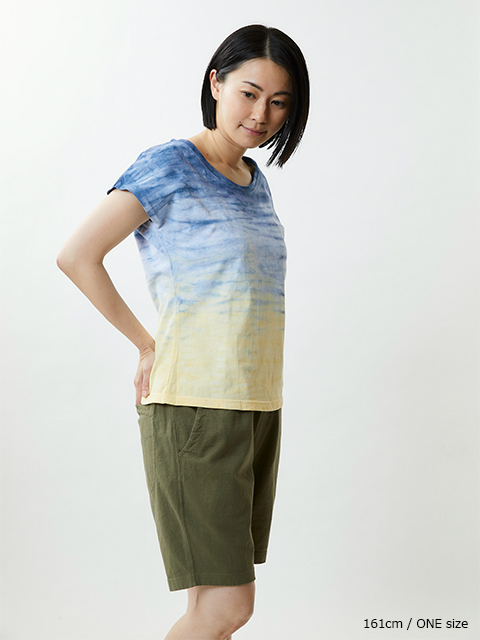 【SPECIAL EDITION】 HORIZON DYE WOMEN'S NO SLEEVE TEE [2020SS] / ホライズンダイウィメンズノースリーブTシャツ