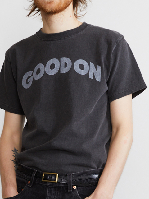 """""""GOOD ON"""" ARCH LOGO S/S TEE [2021SS] / """"GOOD ON""""アーチロゴショートスリーブTシャツ"""