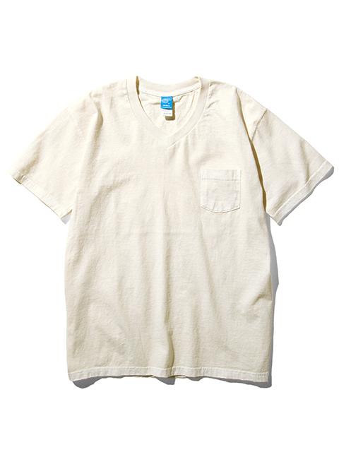 S/S V-NECK POCKET TEE / ショートスリーブVネックポケットTシャツ