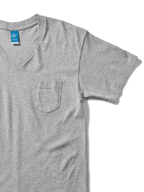 S/S V-NECK POCKET TEE [2021SS] / ショートスリーブVネックポケットTシャツ