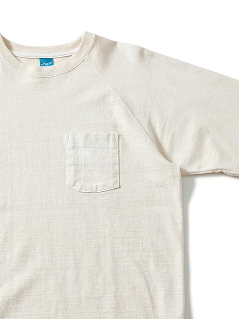 L/S HEAVY RAGLAN POCKET TEE / ロングスリーブヘビーラグランポケットTシャツ