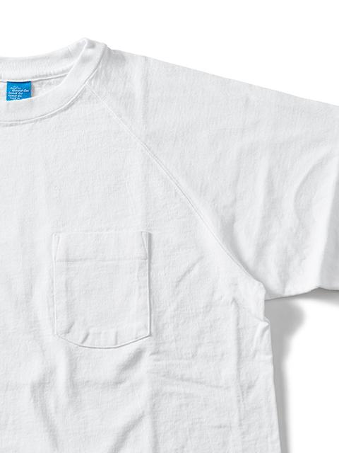 L/S HEAVY RAGLAN POCKET TEE [2021SPRING] / ロングスリーブヘビーラグランポケットTシャツ