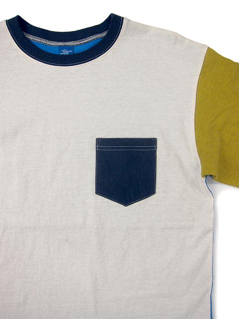 CRAZY L/S POCKET TEE / クレイジーロングスリーブポケットTシャツ