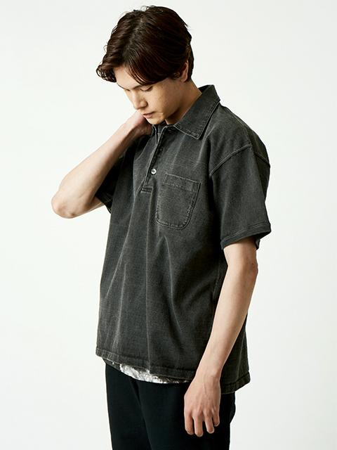 S/S HEAVY POLO TEE / ショートスリーブヘビーポロTシャツ