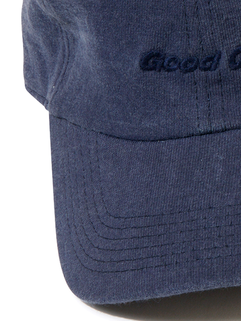 """Good On"" EMBROIDERY HEAVY JERSEY LOW CAP / ""Good On""刺繍ヘビージャージーローキャップ"