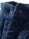 POKA POKA TEE JACKET -INDIGO SHAVE- [2020FW] / ポカポカT-ジャケット-インディゴシェイブ-