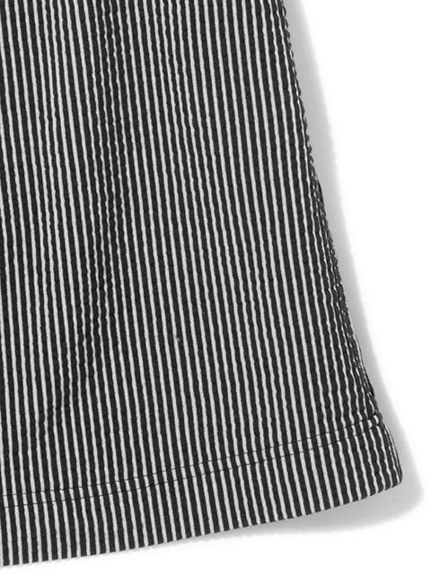 SEERSUCKER TEE MAXI SKIRT [2021SS] / シアサッカーT-マキシスカート
