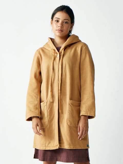 WOMEN'S HOOD COAT [2020FW] / ウィメンズフードコート