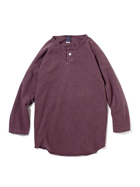 ONE BUTTON BASEBALL TEE / ワンボタンベースボールTシャツ