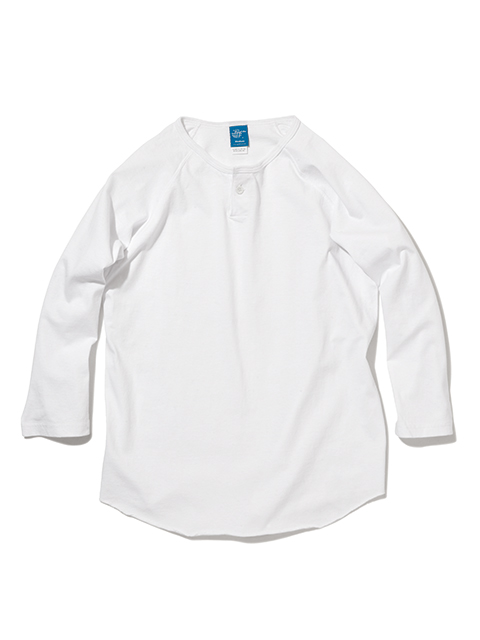 ONE BUTTON BASEBALL TEE [2021FW] / ワンボタンベースボールTシャツ