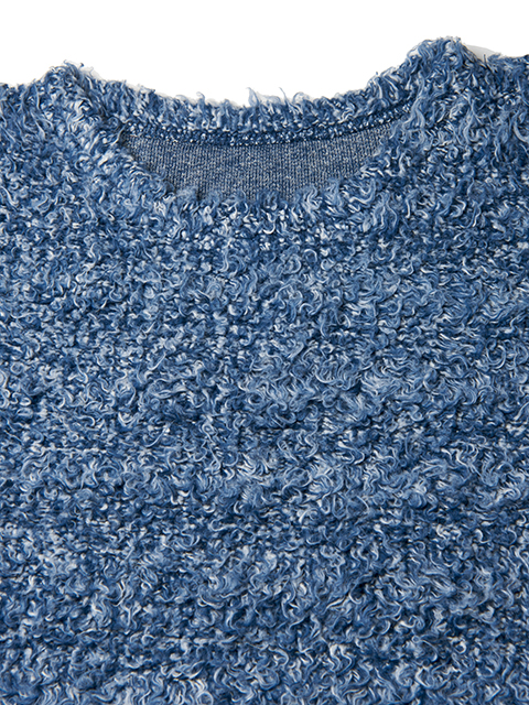 BISON PILE REVERSIBLE L/S SHIRTS [2018FW] / バイソンパイルリバーシブルロングスリーブシャツ