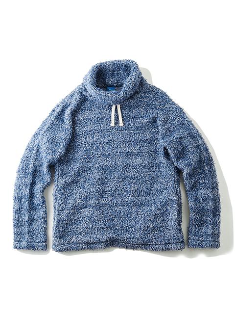 BISON PILE HIGH NECK SHIRTS / バイソンパイルハイネックシャツ